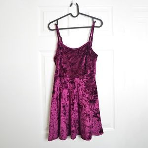 Material Girl Velvet Dress Sz Medium holiday